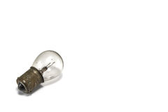 Old small light bulbs. On white background , isolate Royalty Free Stock Photography