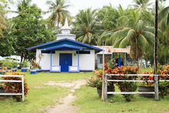 Old small Lutheran church in Manokwari Royalty Free Stock Photography
