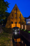 Old small mill in Gdansk Stock Photography