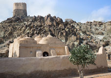 Old small mosque in Shariah Emirate Stock Photography