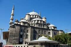 Old small Sofia Mosque in Istanbul, Turkey Royalty Free Stock Photo