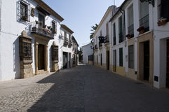 Old small street Stock Image