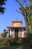 Old small stupa in Nepal Royalty Free Stock Photography