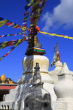 Old small stupa in Nepal Stock Photo