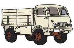 Old small terrain truck Royalty Free Stock Photography