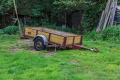 Old small trailer Royalty Free Stock Image