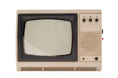 Old small TV set Stock Photography