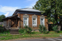Old small wooden country house Stock Photo