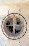 Old smashed window Royalty Free Stock Photo
