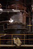 Old smelting furnace Royalty Free Stock Images