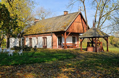 The old smithy in Radziejowice (Poland) Stock Image