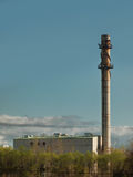 Old smoke stack Stock Images