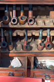 Old Smoking Pipes Royalty Free Stock Images
