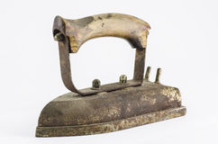 Old smoothing iron Stock Image