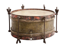 Old snare drum Stock Photo