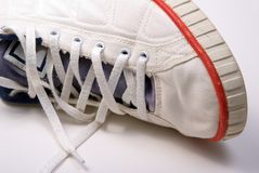 Old sneaker Royalty Free Stock Images