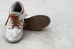 Old sneaker Stock Photography