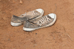 Old sneaker Royalty Free Stock Photography