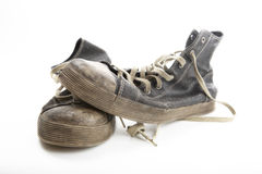 Old sneakers Stock Photo
