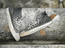 Old sneakers Stock Photos