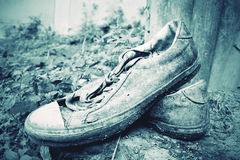 Old sneakers Royalty Free Stock Photos