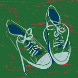 Old sneakers Royalty Free Stock Photography