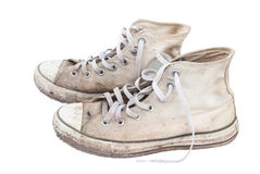Old sneakers . Stock Photos