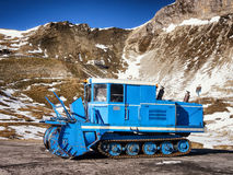 Old snowcat Stock Photos
