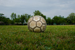Old soccer Stock Image