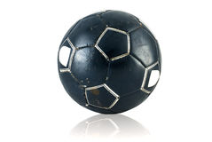 Old soccerball Royalty Free Stock Image