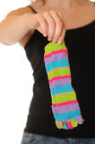 Old sock Stock Photography