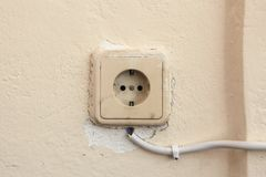 Old Socket Stock Image
