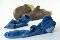 Old socks Royalty Free Stock Images