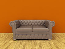 Old sofa Royalty Free Stock Photography
