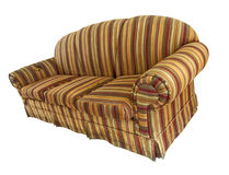 Old Sofa - Wide Angle Royalty Free Stock Image
