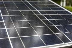 Old Solar cells Stock Photos