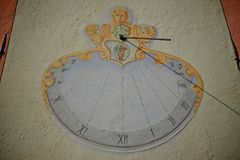 Old solar clock Royalty Free Stock Image