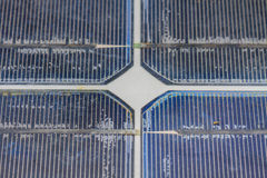 Old solar panel Stock Image