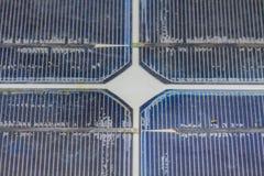 Old solar panel Stock Image