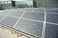 Old solar panels Royalty Free Stock Photos