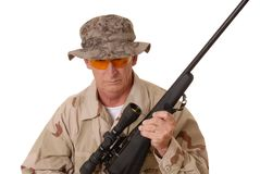 Old Soldier 11 Royalty Free Stock Photos