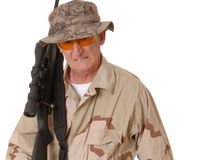 Old Soldier 21 Stock Photo