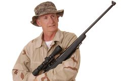 Old Soldier 23 Stock Photos
