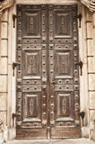 Old solid door Royalty Free Stock Photo