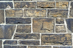 Old solid stone wall Royalty Free Stock Image