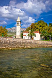 Old Solin church and Jadro river Royalty Free Stock Photo