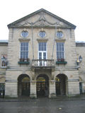 Old Somerset Town Hall. Town Hall in Somerset England royalty free stock photography