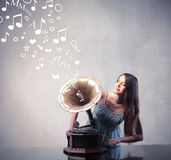 Old songs Royalty Free Stock Photo