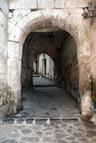 Old sorrento. The old gate of sorrento in italy Royalty Free Stock Photo