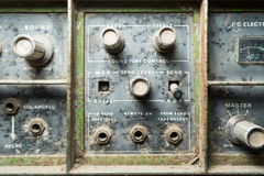 Old Sound Tone Control knop Stock Photography
